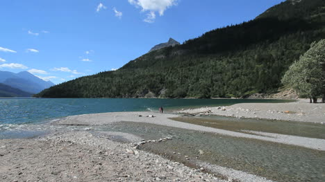 Canada-Waterton-Lakes-NP-stream-enters-lake