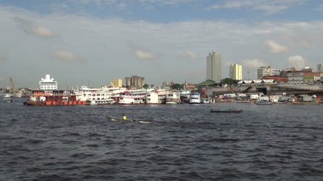 Manaus-waterfront-with-outboard-boat-s