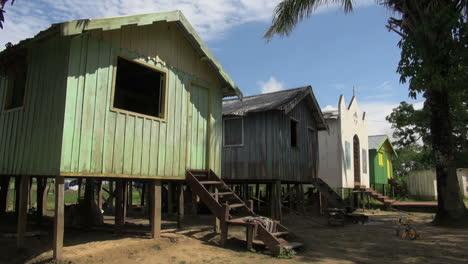 Amazon-island-village-houses-&-village-church