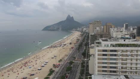 Rio-de-Janeiro-Ipanema-Beach-view-up-beach
