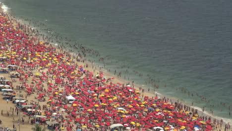 Rio-de-Janeiro-Ipanema-Beach-umbrellas-on-Saturday