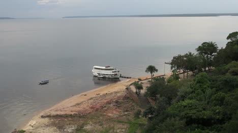 Brazil-Rio-Negro-river-boat-at-Manaus-s