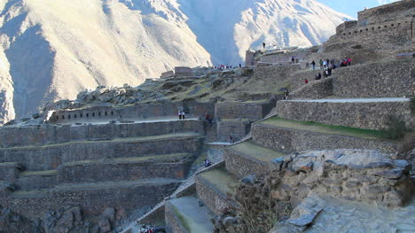 Peru-Sacred-Valley-Ollantaytambo-staircase-up-terrace-slope-3