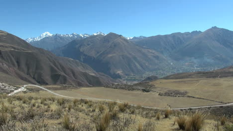 Peru-Andes-road-and-view