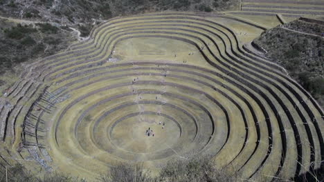 Peru-Moray-agricultural-terraces-circular