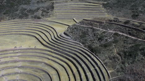 Peru-Moray-agricultural-terraces-patterns