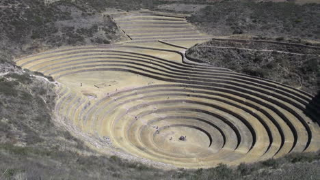 Peru-Moray-agricultural-terraces-view