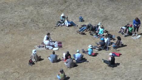 Peru-Moray-ritual-with-tourist-crowd
