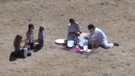 Peru-Moray-ritual-with-tourists