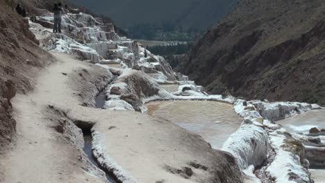 Peru-salt-pans-water-running