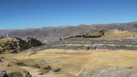 Peru-Sacsayhuam-n-overview-with-distant-Cusco