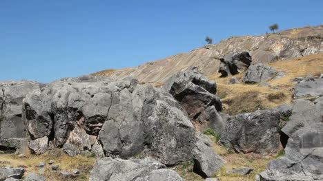 Peru-Sacsayhuaman-rugged-rocks-and-natural-slides-3