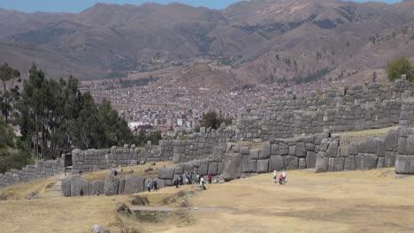 Peru-Sacsayhuam-n-walls-with-Cusco-beyond-s
