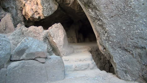 Peru-Quenko-stone-steps-to-entrance-to-deep-cavern-5
