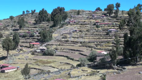 Peru-Taquile-hillside-stepped-with-agricultural-terraces-6