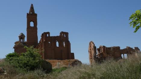 España-Belchite-Iglesia-En-Ruinas