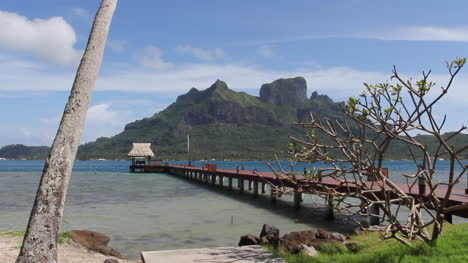 Bora-Bora-a-long-pier-extends-into-the-lagoon