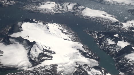 Greenland-icy-shore-from-above
