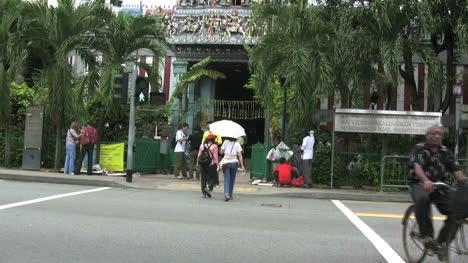 Singapore-city-Hindu-temple