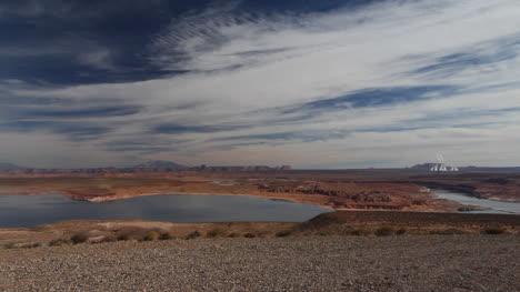 Arizona-dramatic-sky-over-Lake-Powell