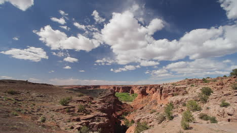 Arizona-Canyon-de-Chelly-shadow-and-sun-at-Tunnel-Overlook-time-lapse-