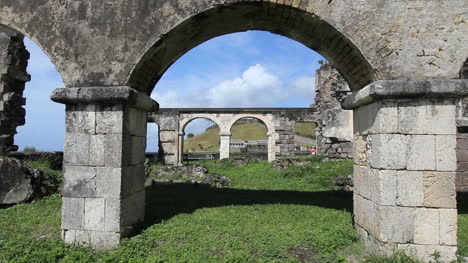 St-Kitts-Brimstone-Hill-arches-of-lower-fort-ruins