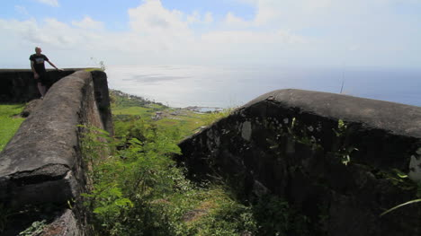 St-Kitts-view-of-sea-from-Brimstone-Hill-HD