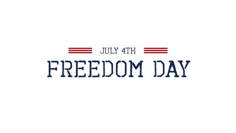 Animated-closeup-text-July-4th-on-holiday-background-3
