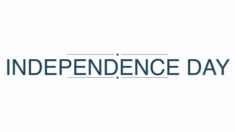 Animated-closeup-text-Independence-Day-on-holiday-background-1