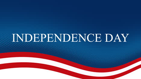 Animated-closeup-text-Independence-Day-on-holiday-background-2