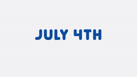 Animated-closeup-text-July-4th-on-holiday-background-25