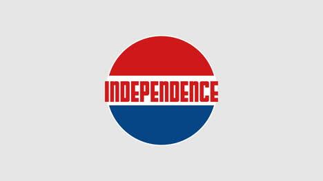 Independencia-De-Texto-De-Primer-Plano-Animado-Sobre-Fondo-De-Vacaciones