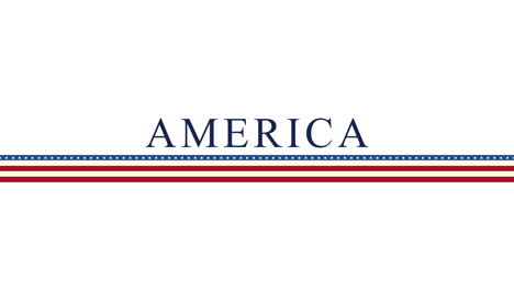 Animated-closeup-text-America-on-holiday-background-1
