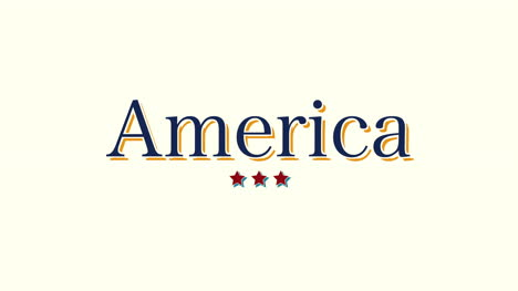 Animated-closeup-text-America-on-holiday-background-4