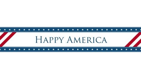 Animated-closeup-text-Happy-America-on-holiday-background-2