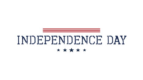 Animated-closeup-text-Independence-Day-of-USA-on-holiday-background-3