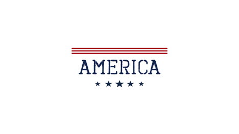 Animated-closeup-text-America-on-holiday-background-6