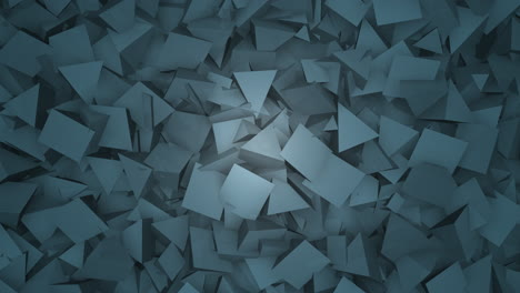 Motion-dark-blue-triangles-shapes