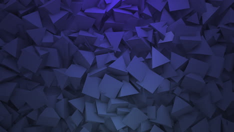 Motion-dark-blue-triangles-shapes-3