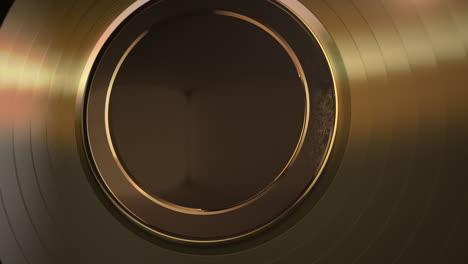 Motion-gold-round-shape