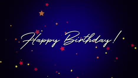 Animated-closeup-Happy-Birthday-text-on-blue-background