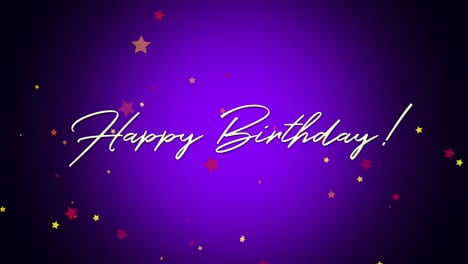 Animated-closeup-Happy-Birthday-text-on-purple-background