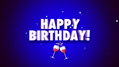 Animated-closeup-Happy-Birthday-text-on-blue-background-1