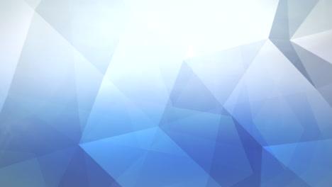 Movimiento-Triángulos-Azules-Extracto-Plano-De-Fondo