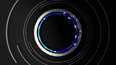 Motion-blue-circles-abstract-background