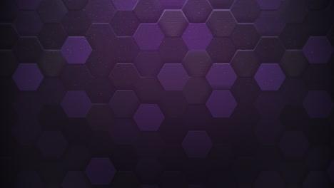 Motion-dark-purple-hexagon-abstract-background