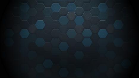 Motion-dark-blue-hexagon-abstract-background-1