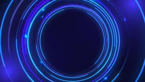 Bewegung-Blaue-Kreise-Abstrakten-Hintergrund-3