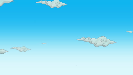 Cartoon-animation-background-with-motion-clouds-4