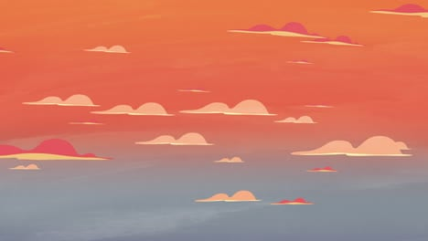 Cartoon-animation-background-with-motion-clouds